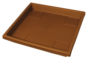 Square plant tray